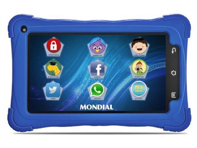 Tablet Kids Mondial 8GB Azul - 1