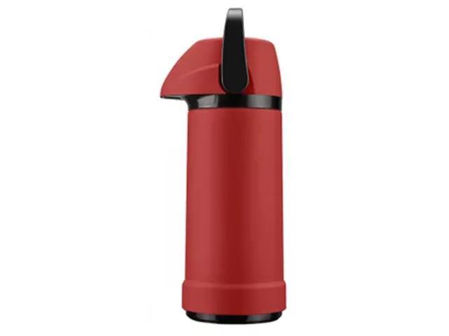 Garrafa Térmica Invicta Soft Touch Vermelha 1L