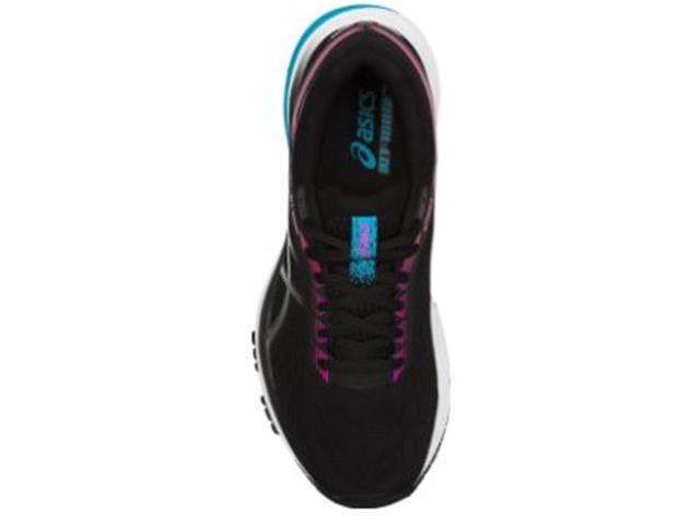 Tênis Asics Gt-1000 7 Black/Pink Glo - 2