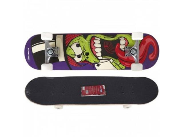 Skate Street Semi Profissional MOR Row Mágico com Abec 5