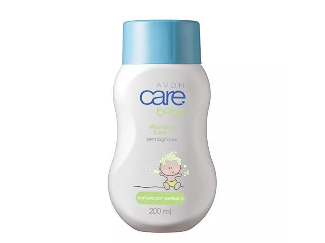 Shampoo 2 em 1 Avon Care Baby  200mL