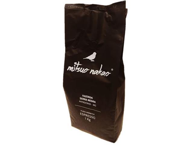 Café Mitsuo Nakao em Grãos 1kg(12 unidades)