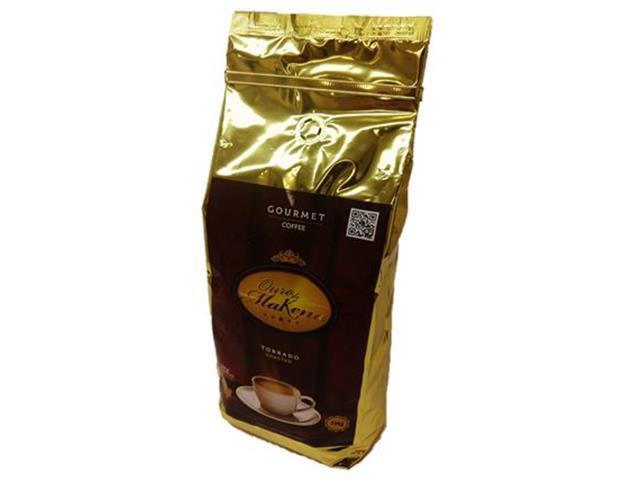 Café Ouro de Makena em Grãos 1kg(12 unidades)