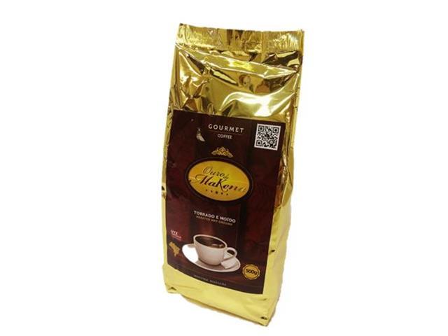 Café Ouro de Makena Torrado e Moído 500g(12 unidades)