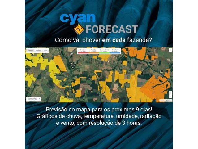 Módulo Forecast e Fire - Cyan