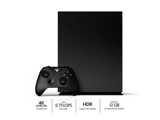 Console Microsoft Xbox One X 1TB 4K HD - 1