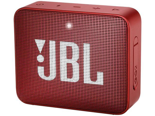 Caixa De Som Bluetooth JBL Go 2 Vermelha