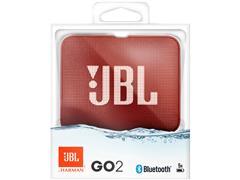 Caixa De Som Bluetooth JBL Go 2 Vermelha - 5