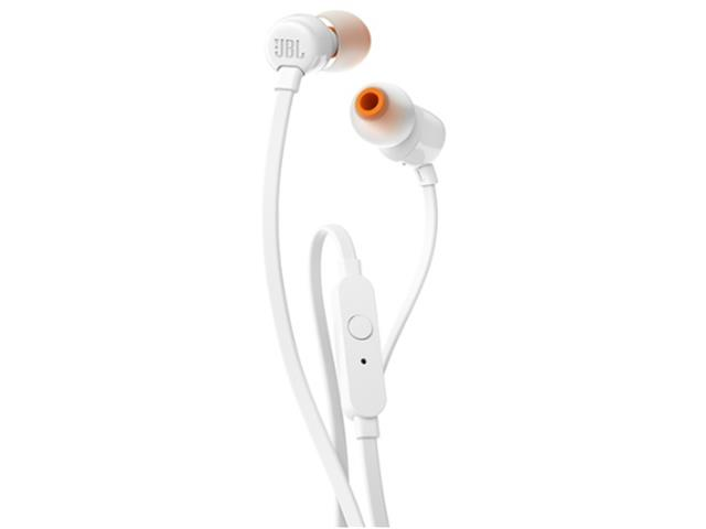 Fone de Ouvido JBL T110 Branco