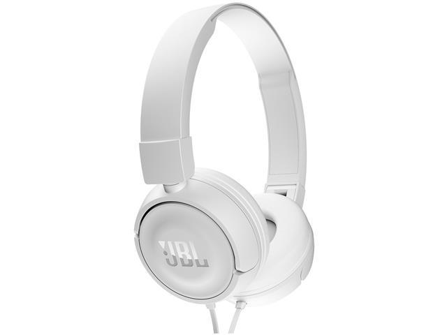 Fone de Ouvido JBL T450 Branco