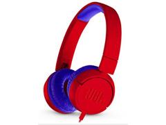 Fones de Ouvido Infantil JBL JR300 Supra-Auriculares Vermelho