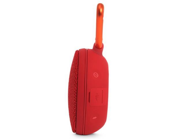 Caixa De Som Bluetooth JBL Clip 2 Vermelha - 1