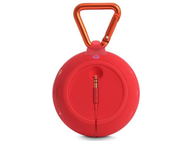 Caixa De Som Bluetooth JBL Clip 2 Vermelha - 2
