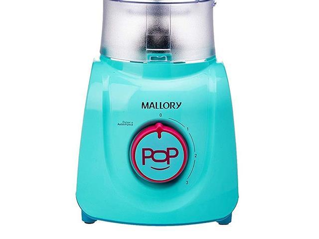 Liquidificador Mallory Tornado Pop Azul 110V - 2