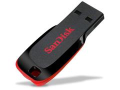 Pen Drive Sandisk Blade Preto 16GB