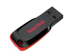 Pen Drive Sandisk Blade Preto 8GB
