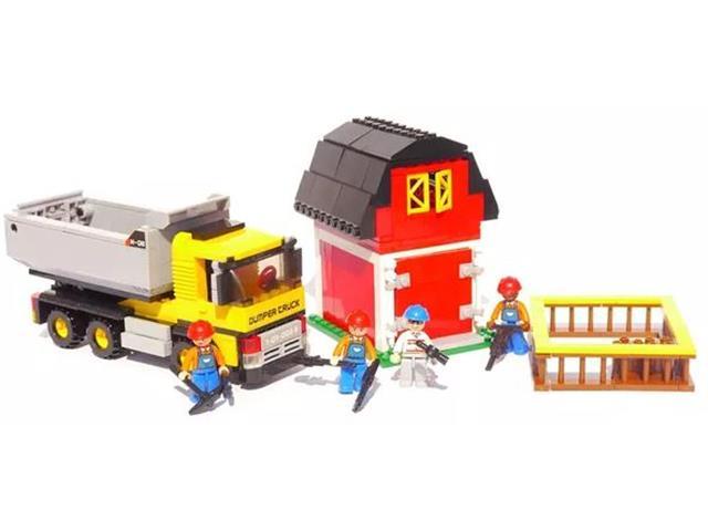 1f2306b6b06cd4 Blocos de Montar Construção Caminhão com Caçamba Multikids 384 Peças