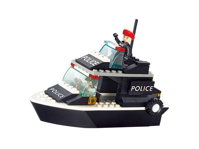Blocos de Montar Multikids Polícia Guarda Costeira BR833 - 98 Peças