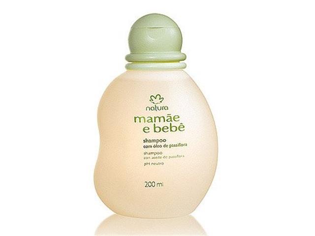Shampoo Natura Mamãe e Bebê Suave 200 ml
