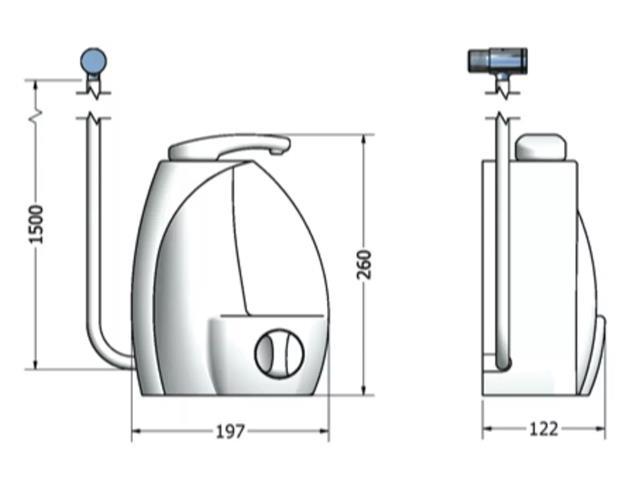 Purificador de Água Lorenzetti Gioviale Branco - 3