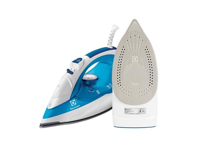 Ferro a Vapor SteamLine apoio de silicone Electrolux SIV12 Azul