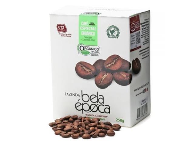 Café Orgânico Bela Época em Grãos 250g