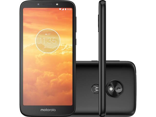 """Smartphone Motorola Moto E5 Play 4G 5.4"""" 16GB Dual Câmera 8MP Preto"""