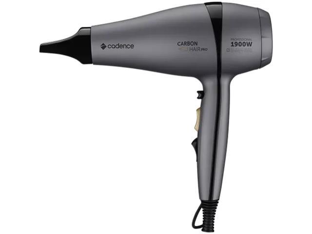 Secador Profissional Carbon Hair Pro Cadence Preto 110V - 1