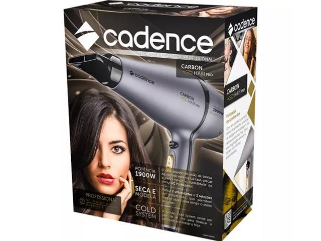 Secador Profissional Carbon Hair Pro Cadence Preto 110V - 4