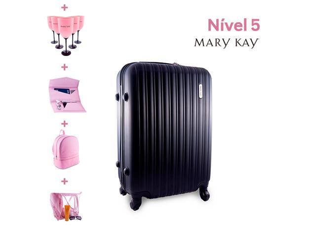 Mala London Collection Swiss Move para Mary Kay + prêmios personalizados níveis anteriores