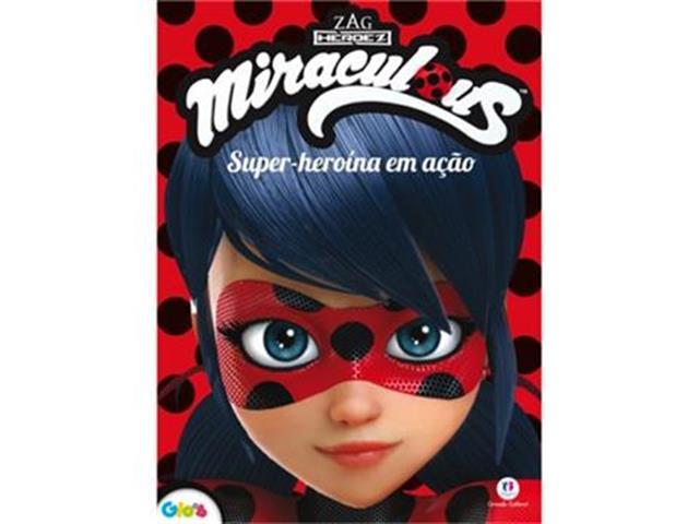 Livro Infantil de Atividades Ladybug Super Heroína em Ação