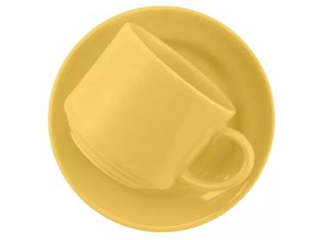 Aparelho de Jantar Redondo Donna Biona Amarelo 20 Peças - 4