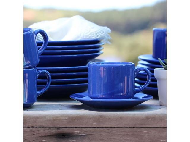 Aparelho de Jantar Redondo Donna Biona Azul 20 Peças - 6