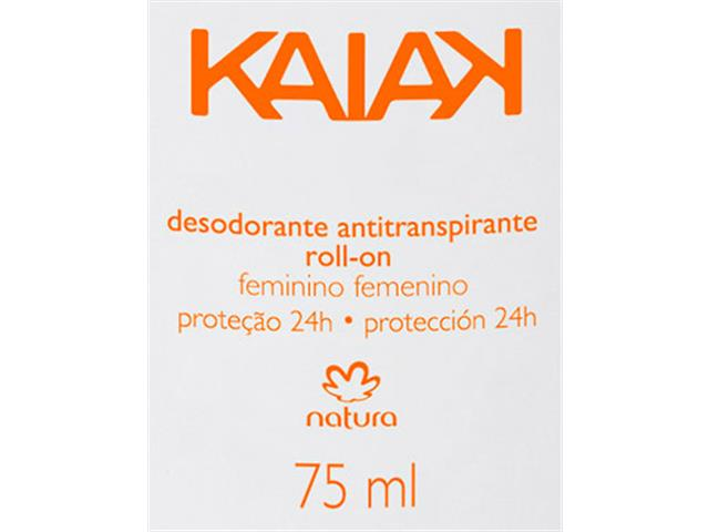 Desodorante Natura Kaiak Feminino Roll-on 75ml - 1