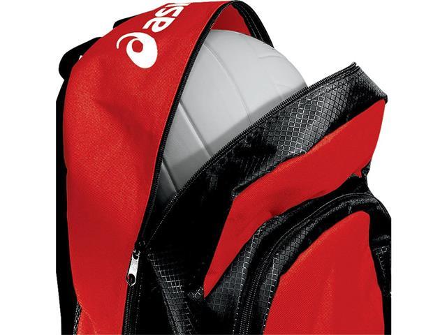 Mochila Asics Team Backpack Red/Black - 2
