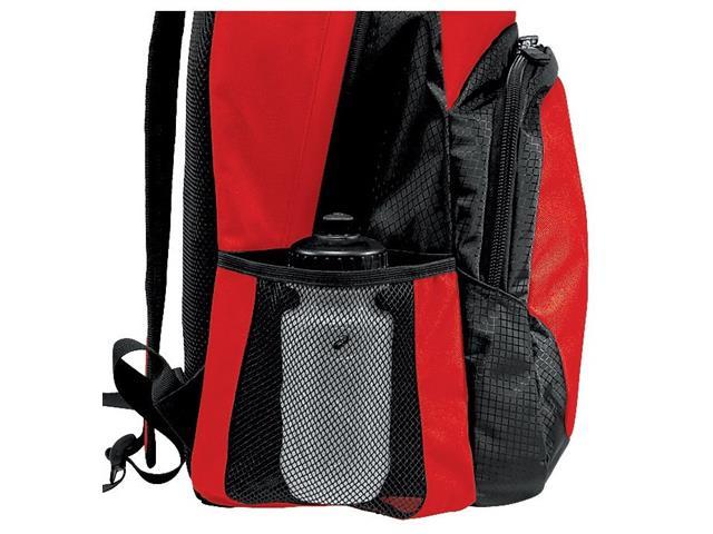 Mochila Asics Team Backpack Red/Black - 1