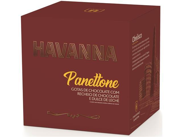 Panettone Havanna Duplo Recheio Chocolate e Doce de Leite 700G - 3