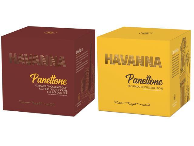 Combo Panettone Havanna Duplo Recheio e Doce de Leite 700G Cada - 9
