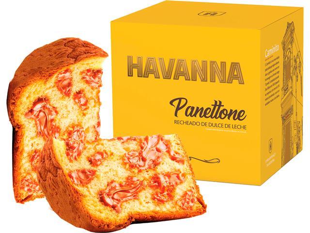Combo Panettone Havanna Duplo Recheio e Doce de Leite 700G Cada - 5