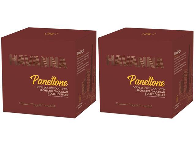 Combo Panettone Havanna Duplo Recheio Chocolate e Doce de Leite 700G - 4