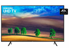 Smart TV LED 43 Samsung Ultra HD 4K HDR c/Conv.TV Digital 3 HDMI 2USB