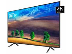 Smart TV LED 43 Samsung Ultra HD 4K HDR c/Conv.TV Digital 3 HDMI 2USB - 1