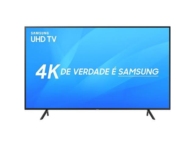"Smart TV LED 49"" Samsung Ultra HD 4K HDR c/Conv.TV Digital 3 HDMI 2USB"