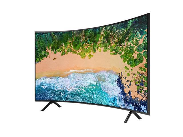 Smart TV LED 49 Curva Samsung Ultra HD 4K HDR c/Conv.TV Digital 3HDMI - 3