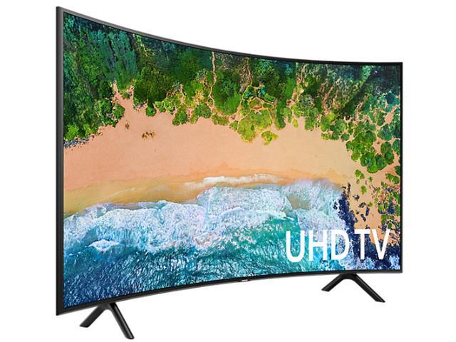 Smart TV LED 49 Curva Samsung Ultra HD 4K HDR c/Conv.TV Digital 3HDMI