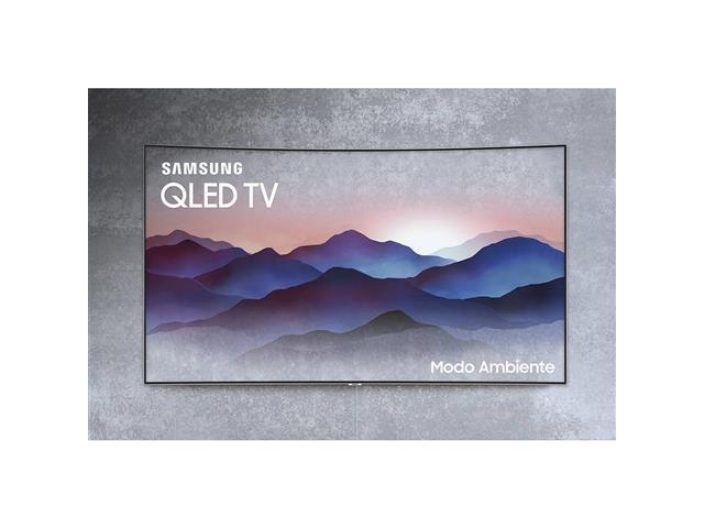 Smart TV QLED 65 Curva Samsung Q8C UHD 4K Pontos Quânticos HDR 4 HDMI - 2