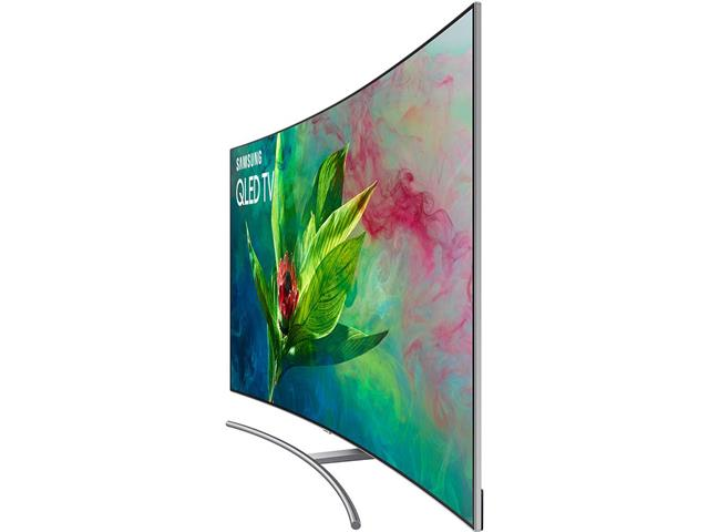 Smart TV QLED 65 Curva Samsung Q8C UHD 4K Pontos Quânticos HDR 4 HDMI - 5