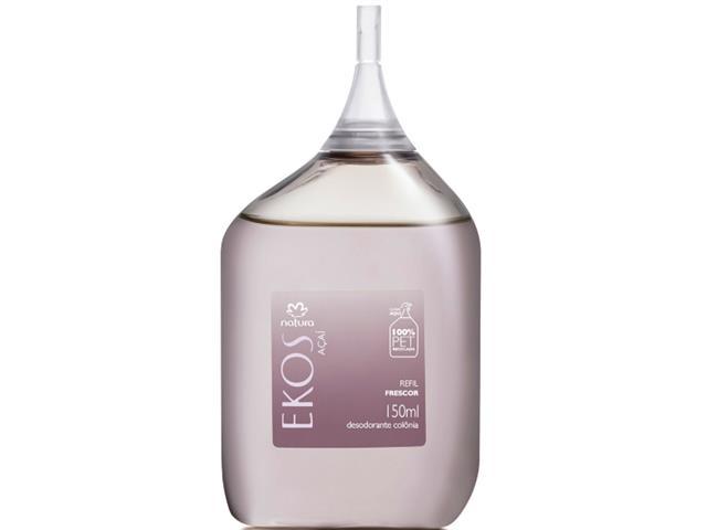 Refil Desodorante Colônia Frescor Açaí Natura Ekos 150mL