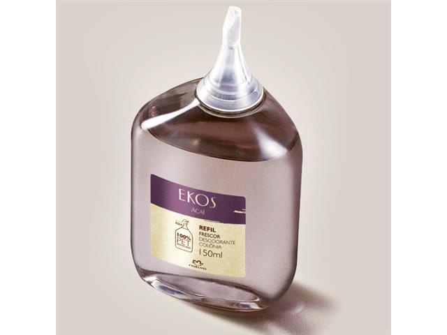 Refil Desodorante Colônia Frescor Açaí Natura Ekos 150mL - 3