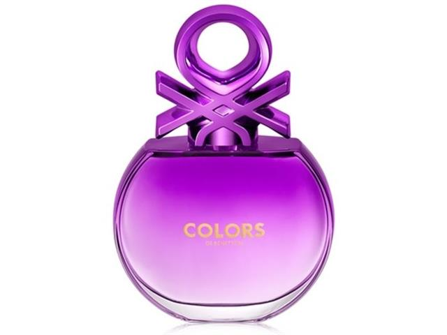 Kit Perfume Benetton Colors Purple EDT 80ml + Desodorante 150ml - 1
